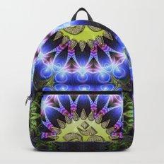 Om Shanti Fractal Geometry series #1 Backpacks