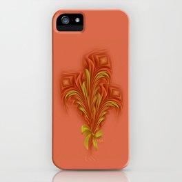 Color Meditation - Orange  iPhone Case