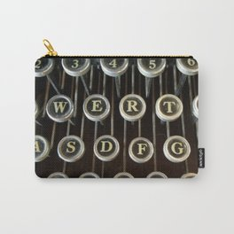 'Qwerty' Typewriter Keys Photo Carry-All Pouch