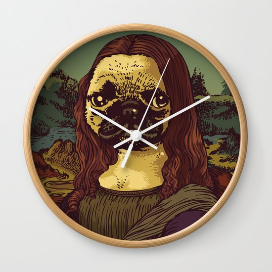 Pugalisa Wall Clock