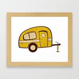 Camper Framed Art Print