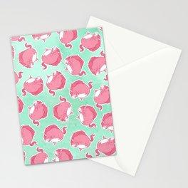 Pink Unicorn LTK pattern Stationery Cards