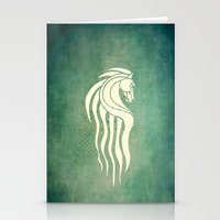 gondor Stationery Cards featuring Rohan Horse heraldry by Nxolab