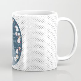 Alice in Wonderland - Six Impossible Things Coffee Mug