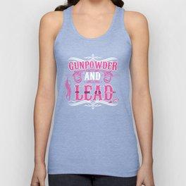 Gunpowder and Lead Graphic T-shirt Unisex Tank Top