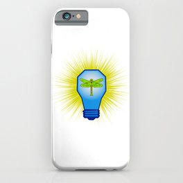 Dragon bulb low poly pattern iPhone Case