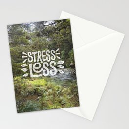 Stress Less Stationery Cards