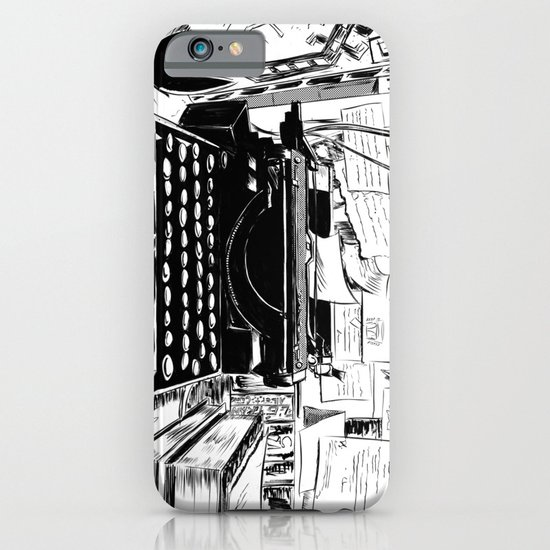 Shakespeare and Company iPhone & iPod Case