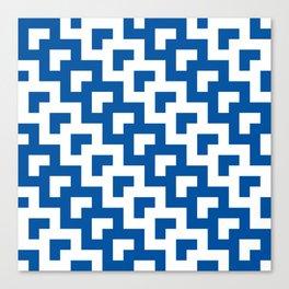 UW Tessellation 3 Canvas Print