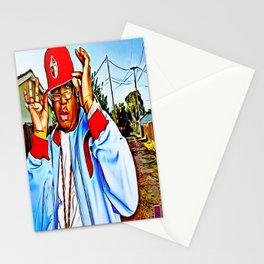 """""""SYNONYMOUS W/ BAY AREA RAP"""" Stationery Cards"""
