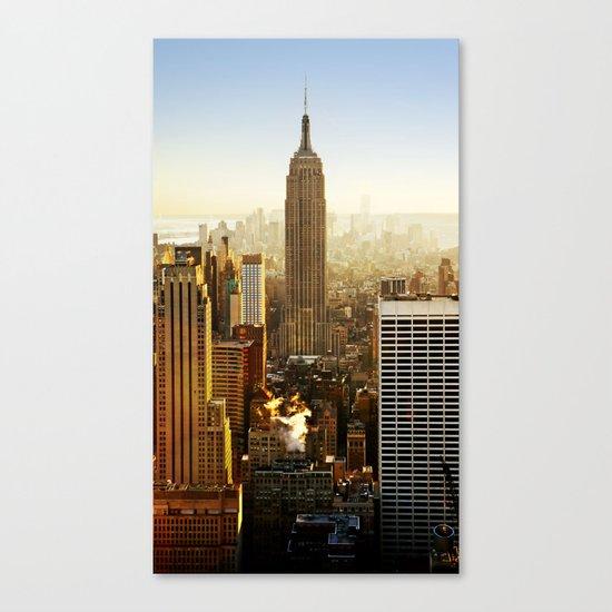 New York City Sunshine Canvas Print