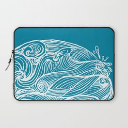 Rough sea (our earth) Laptop Sleeve