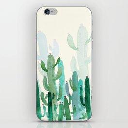 cactus world iPhone Skin