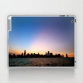 Chicago Skyline Silhouette Laptop & iPad Skin