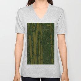 Bamboo jungle Unisex V-Neck