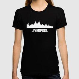 Liverpool England Skyline Cityscape T-shirt