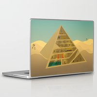 egypt Laptop & iPad Skins featuring Egypt by Xènia Castellví