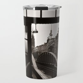 BERLIN TELETOWER - urban landscape Travel Mug