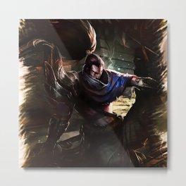 League of Legends YASUO Metal Print