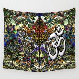 Om Shanti by Kenny Rego Wall Tapestry