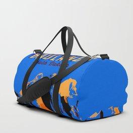 Visit Badlands Retro Postcard Duffle Bag