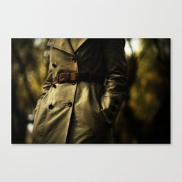 Casablanca Trench Canvas Print