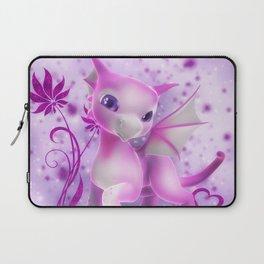 Cuddle me Dragon in pink Laptop Sleeve