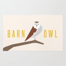 Barn Owl Rug