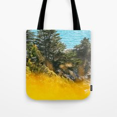 Colors of Summer in Bloom by the Ocean Tote Bag