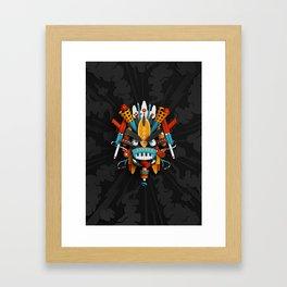 God of Play Framed Art Print