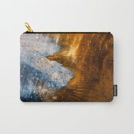 Abstract Acrylic Blizzard Carry-All Pouch