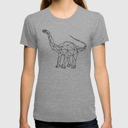 Prehistoric Geometric Dinosaur T-shirt