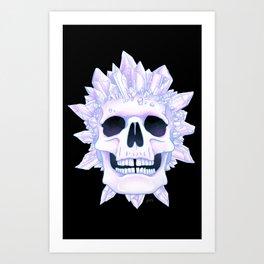 Th Crystal Crown Art Print