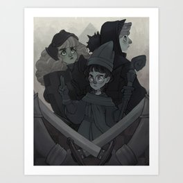PWP Best Friends Art Print