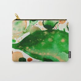 Green Study Carry-All Pouch