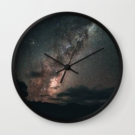 Warrumbungles Milky Way II Wall Clock