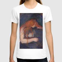 "Edvard Munch ""Vampire"", 1895 T-shirt"