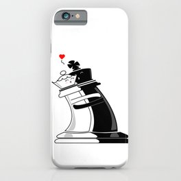 Chess love #2 iPhone Case