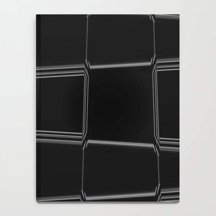 Minimalist Black & White Notebook