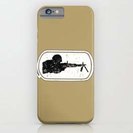 LMG Dogtag Army Military Design iPhone Case