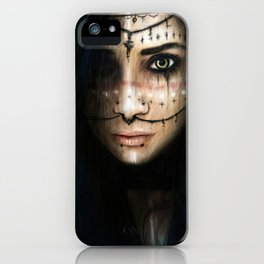 Visions in the Dark iPhone Case