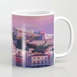 Ibiza Eivissa Old Town and Harbour Pearl of the Mediterranean Coffee Mug
