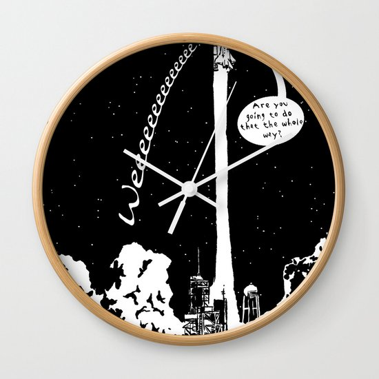 Space shuttle Wall Clock