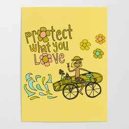 protect what you love Poster