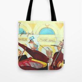 N for Nightingale - Alphabet City Tote Bag