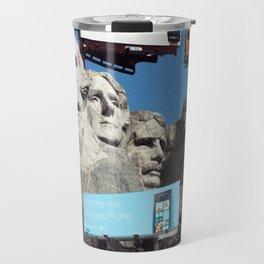 Coke Presents Mount Rushmore Travel Mug