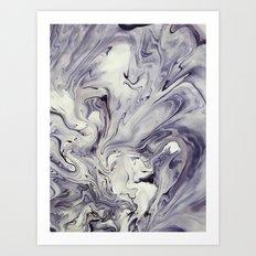 Obsidian Art Print