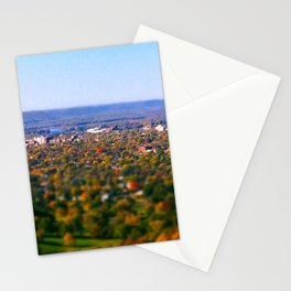La Crosse from the bluff; Wisconsin Stationery Cards