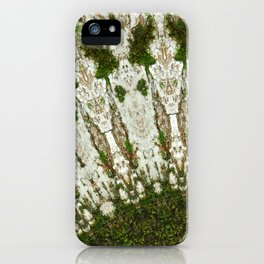 Tree Trunk white iPhone Case