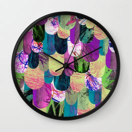 Dragonscale Wall Clock